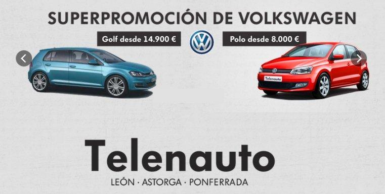Superpromoción de Volkswagen en León