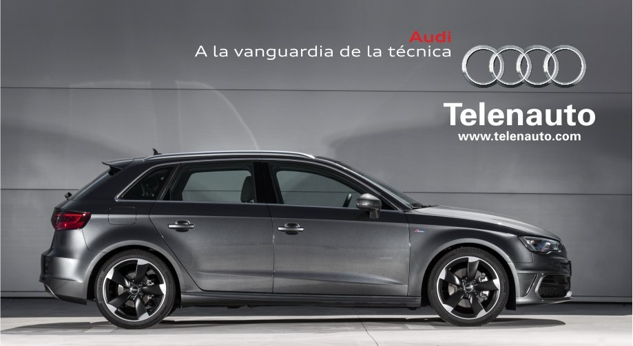Audi A3 Sportback,   a tu alcance en Ponferrada.