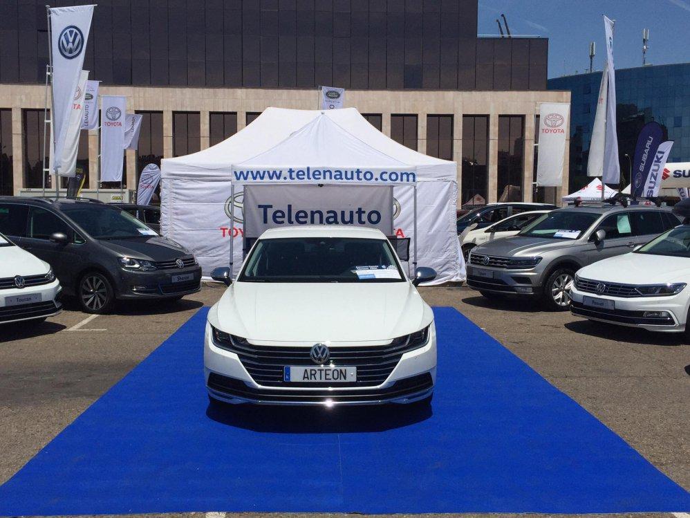Volkswagen Arteon gran atractivo de la Feria del Vehículo Nuevo y de Ocasión