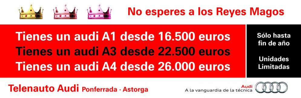 Tu audi A3 desde 22.500 euros en Telenauto Audi en Ponferrada y Astorga