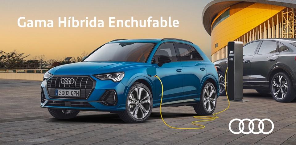 Audi gama híbrida enchufable
