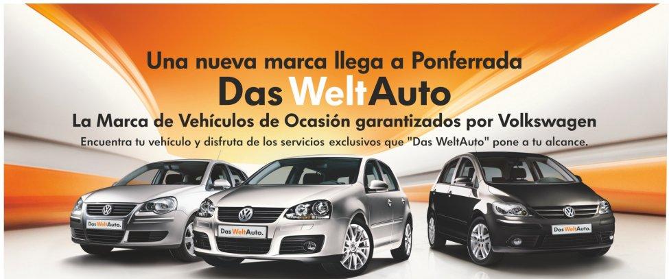 Una nueva marca ha llegado a Ponferrada - Telenauto DasWeltauto - Vehículos de Ocasión Garantizados