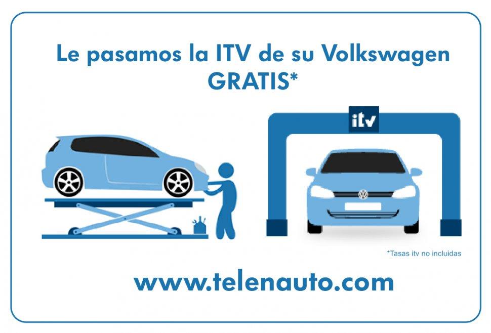 La revisión e ITV de su Volkswagen ahora es Gratis* en León