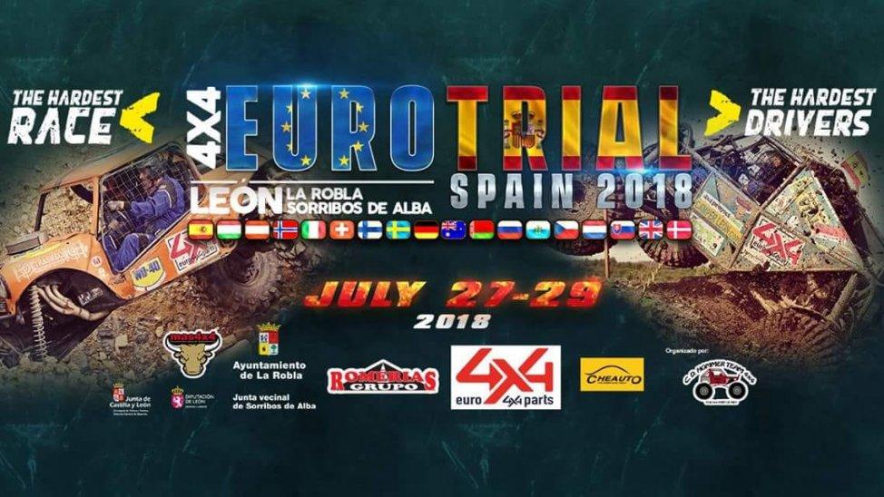 Llega el Campeonato Europeo de Trial 4x4 a León