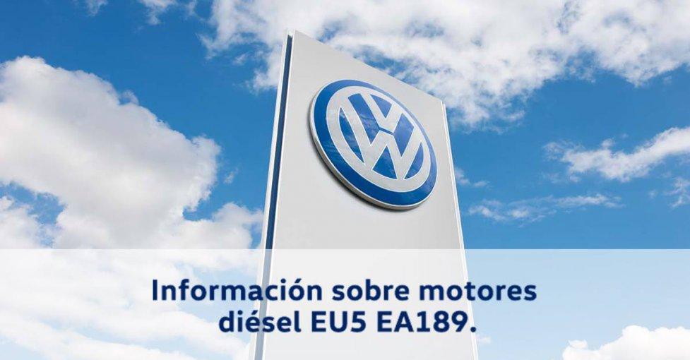 Información motores diesel volkswagen EU5 EA189