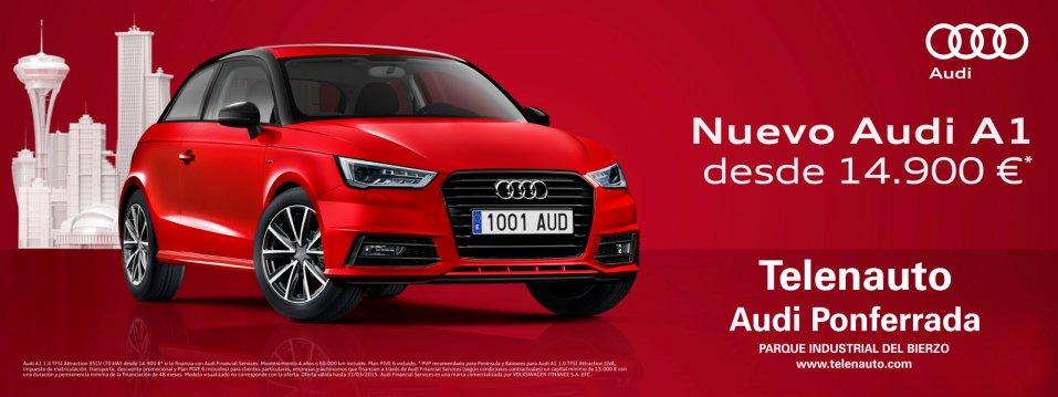 Nuevo Audi A1 desde 14.900 euros