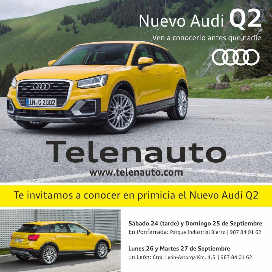 Te invitamos a conocer en primicia el Nuevo Audi Q2