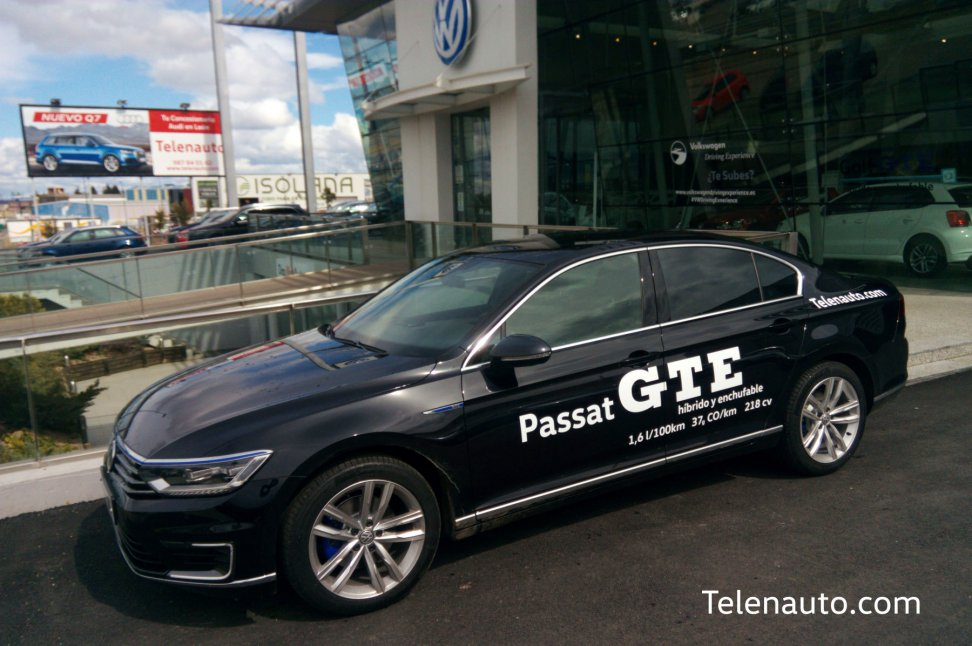 Prueba el Nuevo Passat GTE en Telenauto