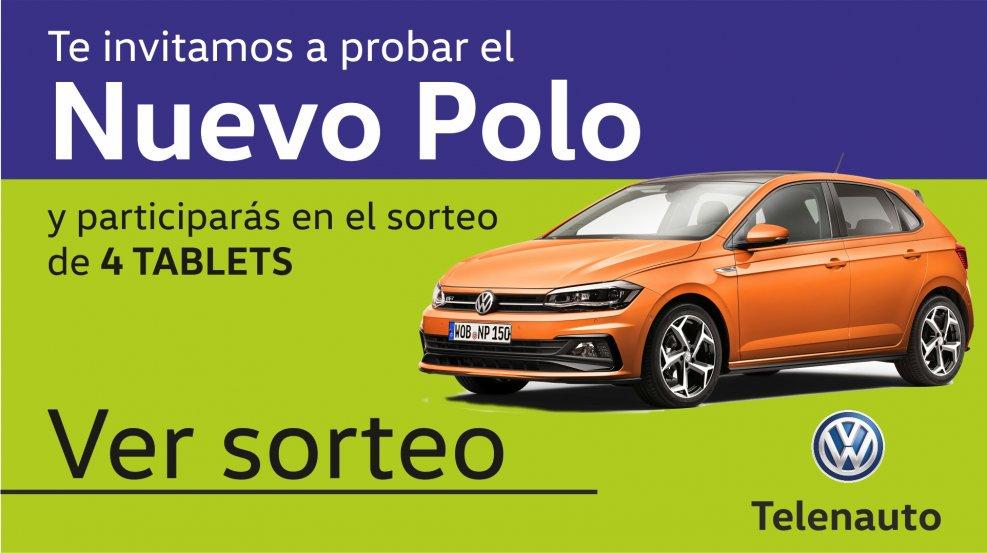 """Sorteo Promoción """"Te invitamos a probar el Nuevo Volkswagen Polo"""""""