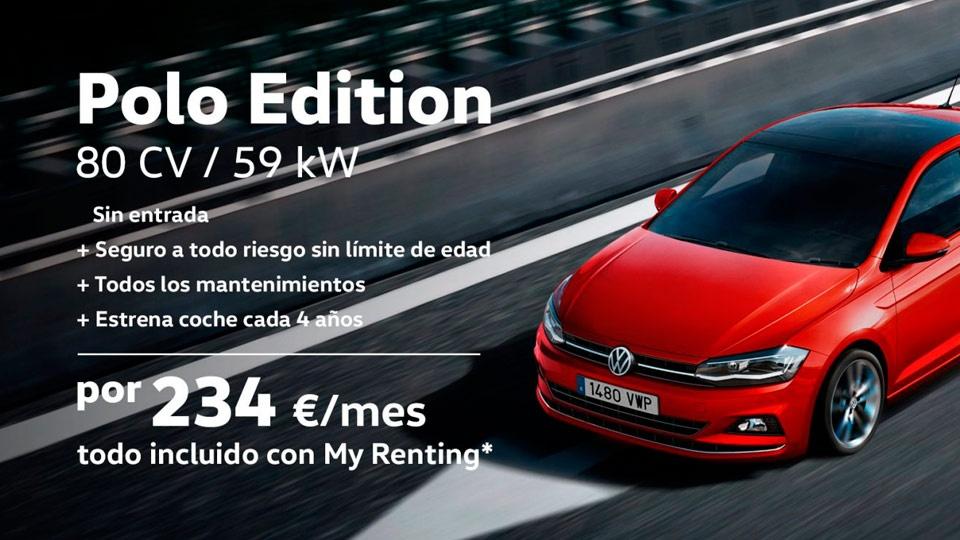 Polo Edition desde 234€/Mes con My Renting
