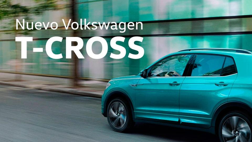 Nuevo T-Cross un SUV urbano creado para inconformistas