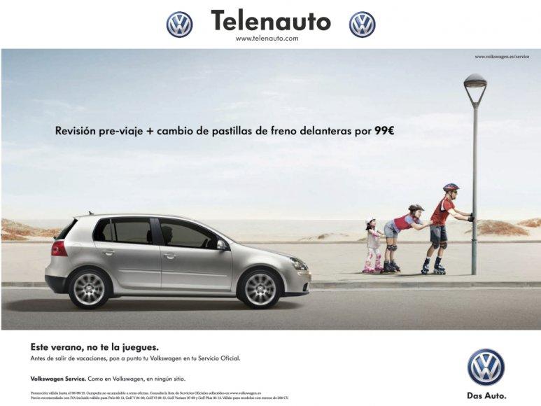 Volkswagen campaña de seguridad para este verano