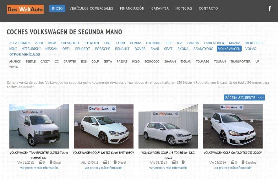 Encuentra tu Volkswagen de Ocasión en las mejores condiciones del mercado