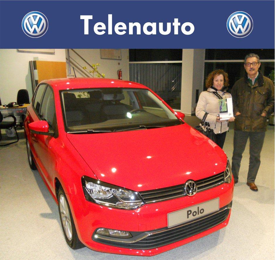"""Entrega de la Tablet de nuestra promoción """"Prueba un VW Polo o un Golf Sportsvan """""""