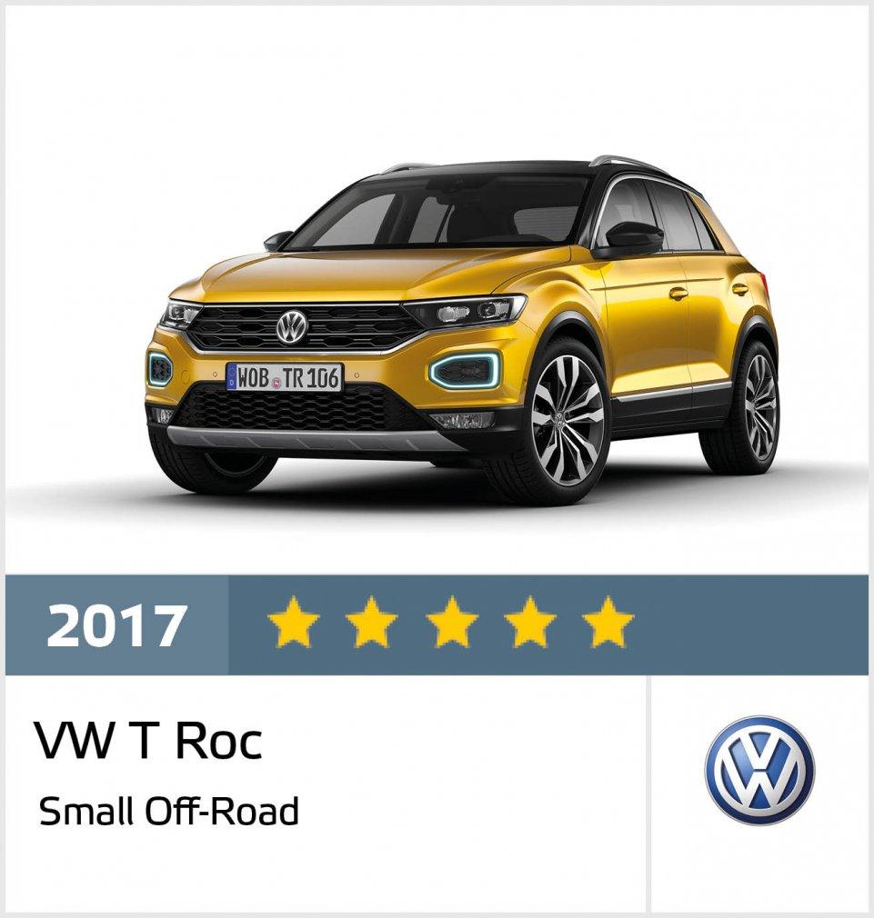 Gran éxito de Volkswagen en 2017 en las 5 estrellas Euro NCAP